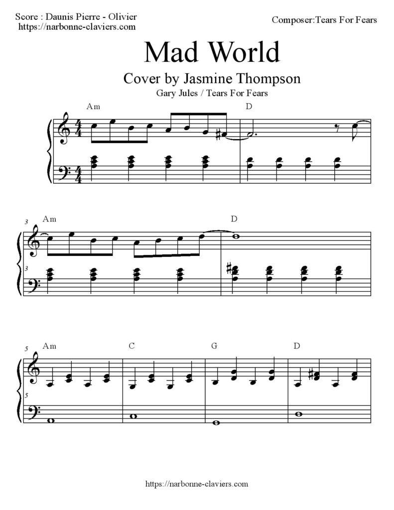 Connu morceau facile Archives - Cours de piano Narbonne - Salles d'Aude  DQ43