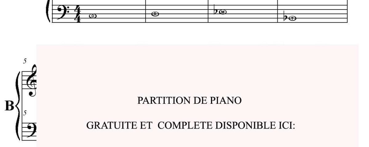 DIEGO PARTITION PIANO